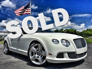 2012 Bentley Continental GT WHITE/WHITE MULLINER in ,, Florida
