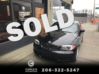 2012 BMW 135i Coupe M Sport 300HP Twin Turbo 7-Speed Automatic Premium Package Heated Xenons CPO Wnty in Seattle