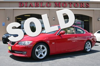 2012 BMW 335Ci 335i Premium Coupe with Navigation and 6 speed manual San Ramon, California