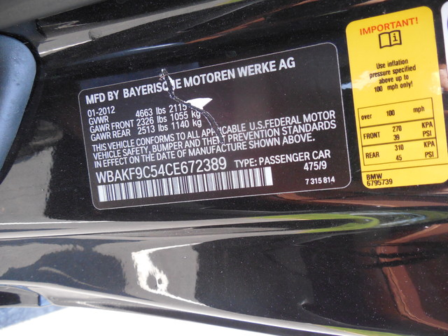 2012 BMW 335i xDrive  6 Speed Manual Sport Package Leesburg, Virginia 25