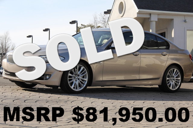 2012 BMW 5-Series AWD 550i xDrive 4dr Sedan AMFM CD Player Anti-Theft Sunroof AC Cruise Powe