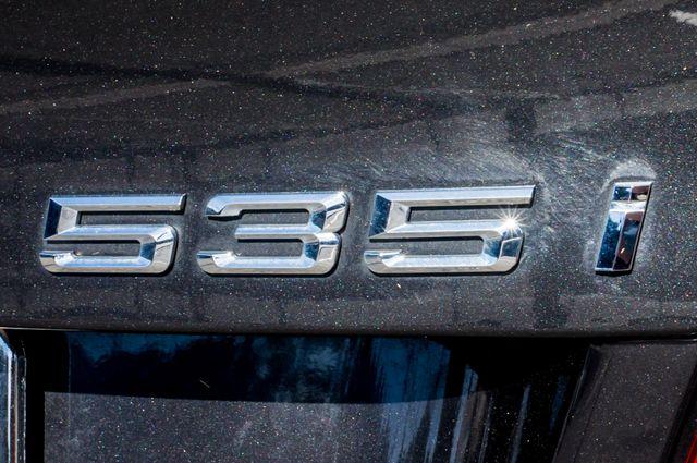 2012 BMW 535i 6SPD MANUAL - M-SPORT - NAVI - TECH PKG Reseda, CA 47