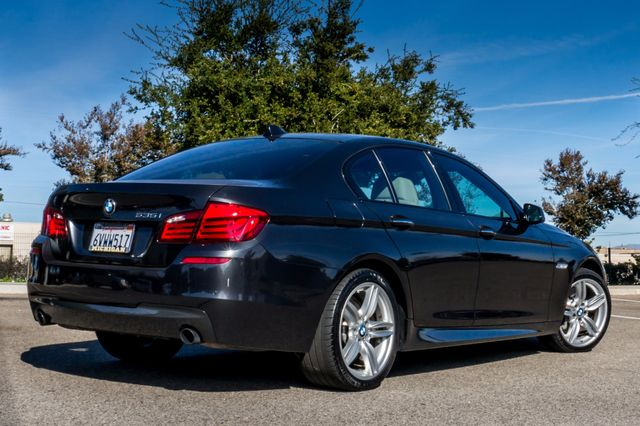 2012 BMW 535i 6SPD MANUAL - M-SPORT - NAVI - TECH PKG Reseda, CA 11
