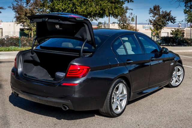 2012 BMW 535i 6SPD MANUAL - M-SPORT - NAVI - TECH PKG Reseda, CA 13