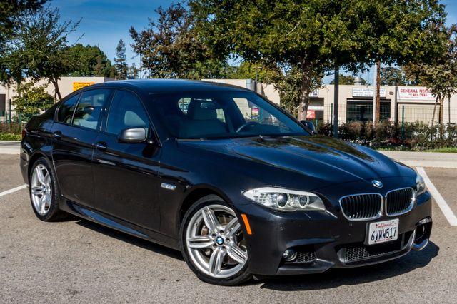 2012 BMW 535i 6SPD MANUAL - M-SPORT - NAVI - TECH PKG Reseda, CA 46