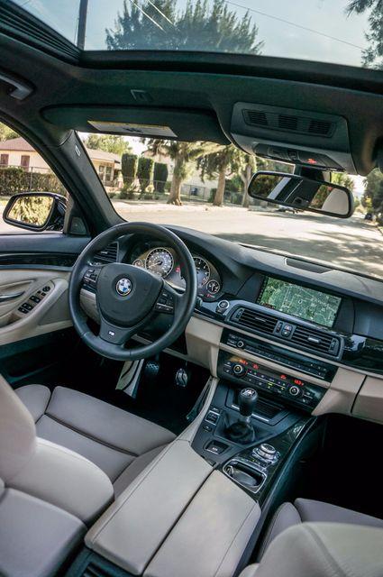 2012 BMW 535i 6SPD MANUAL - M-SPORT - NAVI - TECH PKG Reseda, CA 37