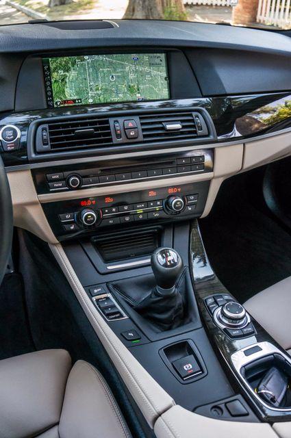 2012 BMW 535i 6SPD MANUAL - M-SPORT - NAVI - TECH PKG Reseda, CA 24