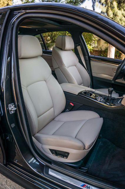 2012 BMW 535i 6SPD MANUAL - M-SPORT - NAVI - TECH PKG Reseda, CA 32