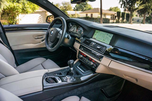 2012 BMW 535i 6SPD MANUAL - M-SPORT - NAVI - TECH PKG Reseda, CA 34