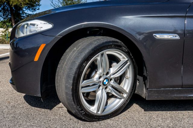 2012 BMW 535i 6SPD MANUAL - M-SPORT - NAVI - TECH PKG Reseda, CA 14