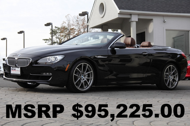 2012 BMW 6-Series 650i 2dr Convertible AMFM CD Player Anti-Theft AC Cruise Power Locks Power