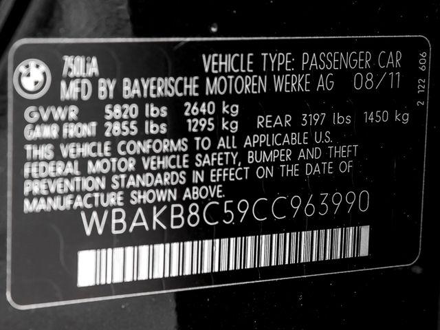 2012 BMW 750Li M-Sport Burbank, CA 40