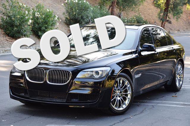 2012 BMW 750LI M SPORT Reseda, CA 0