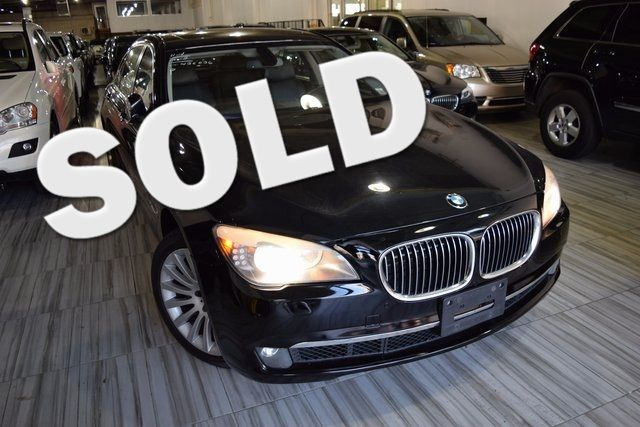 2012 BMW 750Li xDrive 4dr Sdn 750Li xDrive AWD Richmond Hill, New York 0