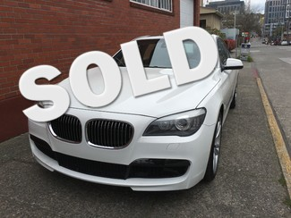 2012 BMW 750i M Sport 33,000 Miles Local 1 Owner Luxury Seating Cold Weather Comfort Packages Save $56,243 Seattle, Washington