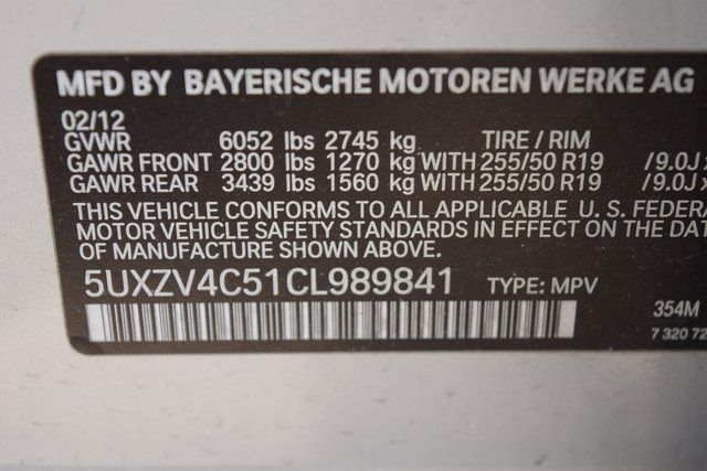 2012 BMW X5 xDrive35i Richmond Hill, New York 35