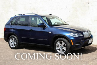 2012 BMW X5 xDrive35d AWD Diesel SUV w/3rd Row Seating, Heated Seats, Navigation & Premium Audio Pkg in Eau Claire