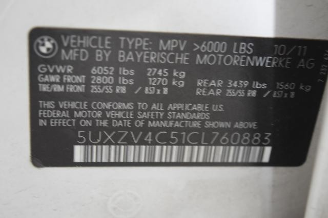 2012 BMW X5 xDrive35i 35i Richmond Hill, New York 22