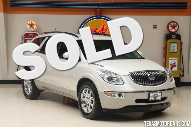 2012 Buick Enclave Leather This Carfax 1-Owner accident-free 2012 Buick Enclave is in great shape