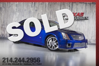 2012 Cadillac CTS-V in Opulent Blue Metallic in Addison