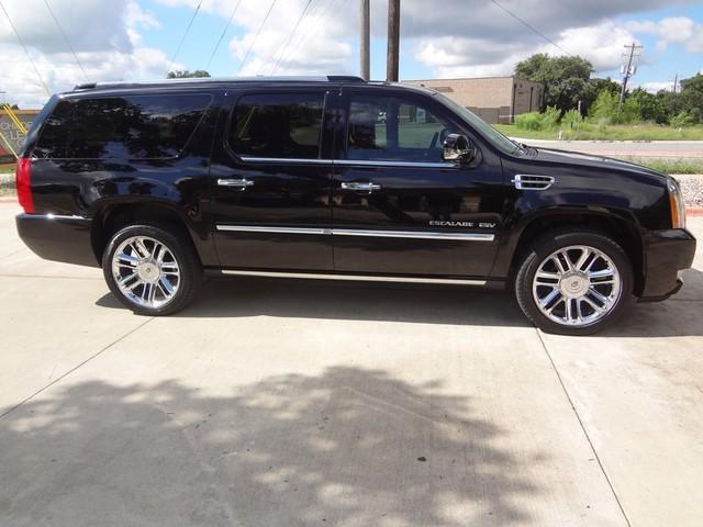2012 Cadillac Escalade ESV Platinum Edition Austin , Texas 6