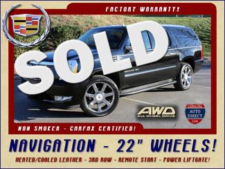 "2012 Cadillac Escalade ESV AWD - NAVIGATION - 22"" WHEELS! Mooresville , NC"