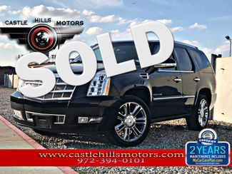 2012 Cadillac Escalade Platinum Edition | Lewisville, Texas | Castle Hills Motors in Lewisville Texas