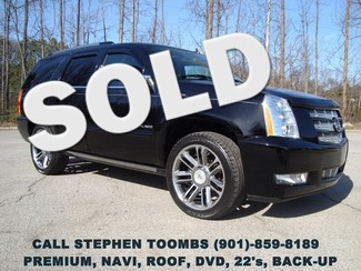 2012 Cadillac Escalade PREMIUM, AWD, NAV, ROOF, DVD, 22's in  Tennessee