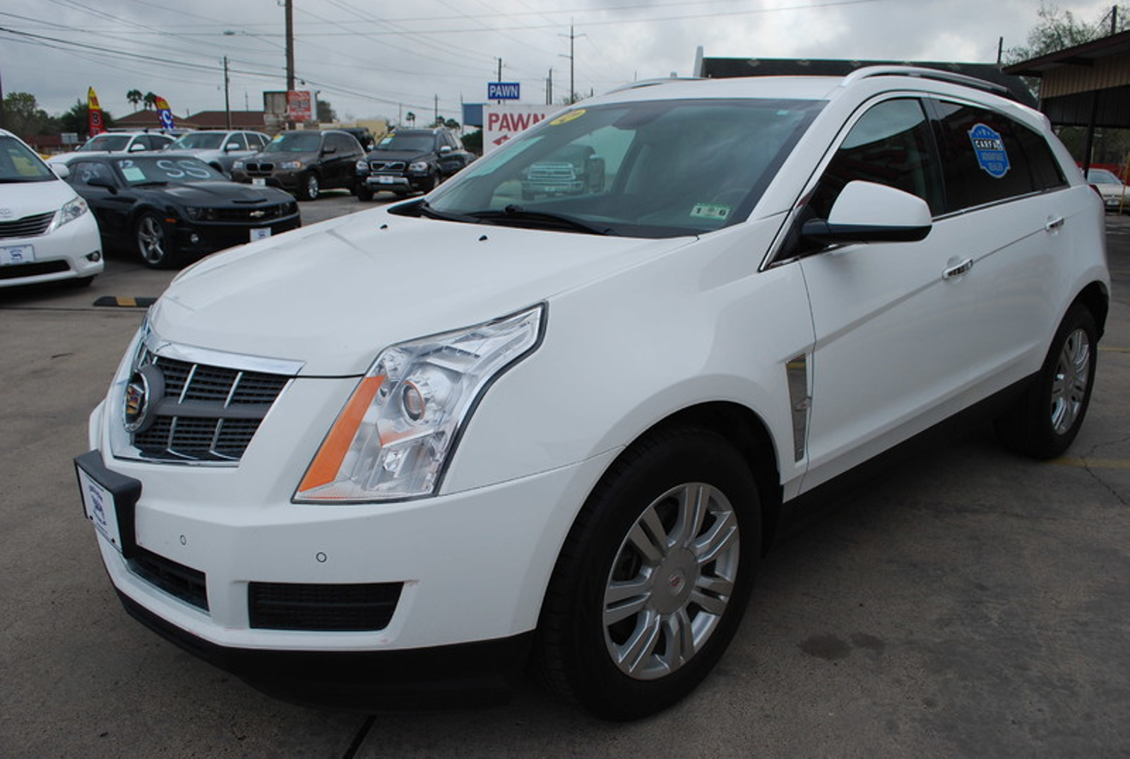 2012 cadillac srx luxury collection brownsville tx english motors. Black Bedroom Furniture Sets. Home Design Ideas