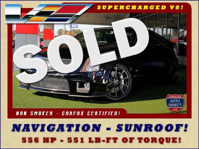2012 Cadillac V-Series CTS-V RWD - NAVIGATION - SUNROOF! Mooresville , NC 0