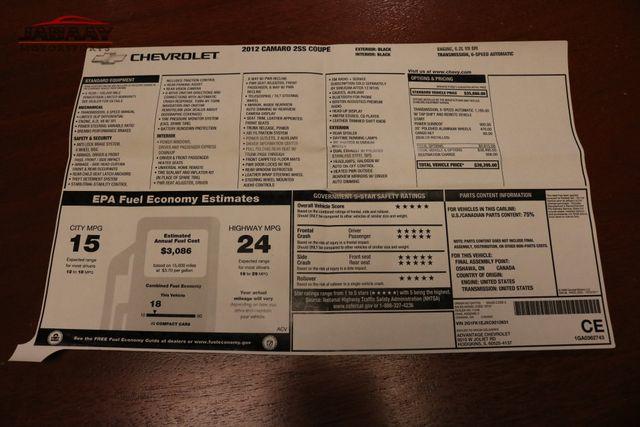 2012 Chevrolet Camaro 2SS Merrillville, Indiana 49