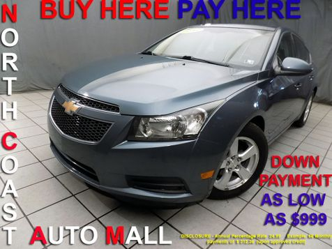 2012 Chevrolet Cruze LT w/1LT As low as $999 DOWN in Cleveland, Ohio