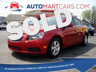 2012 Chevrolet Cruze LT w/1LT | Nashville, Tennessee | Auto Mart Used Cars Inc. in Nashville Tennessee
