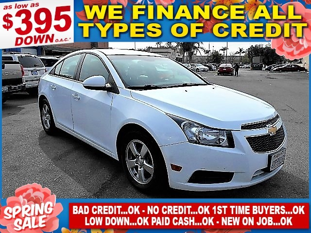 2012 Chevrolet Cruze LT w1LT Limited warranty included to assure your worry-free purchase AutoCh