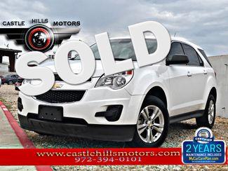 2012 Chevrolet Equinox LS | Lewisville, Texas | Castle Hills Motors in Lewisville Texas