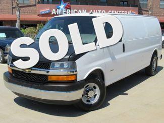 2012 Chevrolet Express Cargo Van 3500 Diesel    Houston, TX   American Auto Centers in Houston TX
