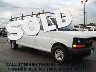 2012 Chevrolet Express Cargo Van 3500, 1-OWNER, 6.0L V8, RACKS, BINS in  Tennessee