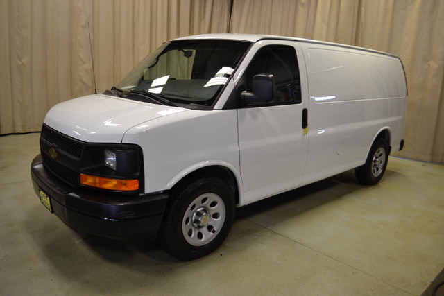 2012 Chevrolet Express Cargo Van awd All wheel drive Roscoe, Illinois 2