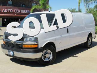 2012 Chevrolet Express G3500 Extended Cargo Van Diesel  | Houston, TX | American Auto Centers in Houston TX