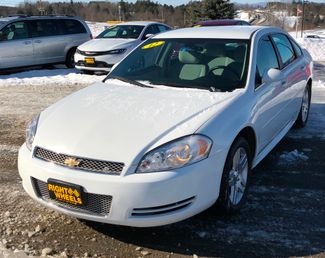2012 Chevrolet Impala LT Fleet  city Vermont  Right Wheels LLC  in Derby, Vermont