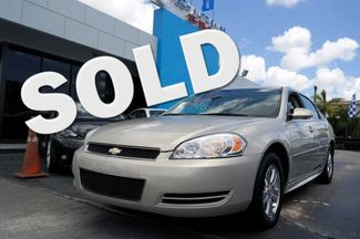 2012 Chevrolet Impala LS Fleet Hialeah, Florida