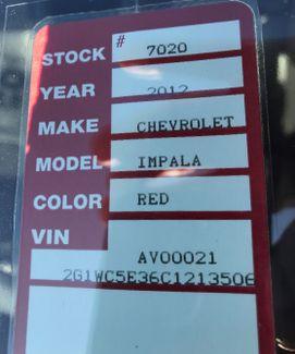 2012 Chevrolet Impala LTZ Nephi, Utah 27