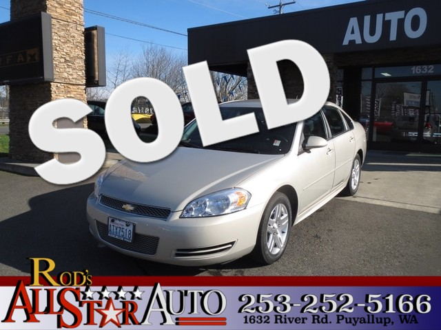 2012 Chevrolet Impala LT The CARFAX Buy Back Guarantee that comes with this vehicle means that you