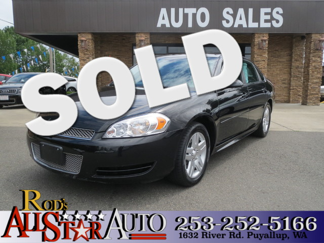 2012 Chevrolet Impala LT Fleet The CARFAX Buy Back Guarantee that comes with this vehicle means th