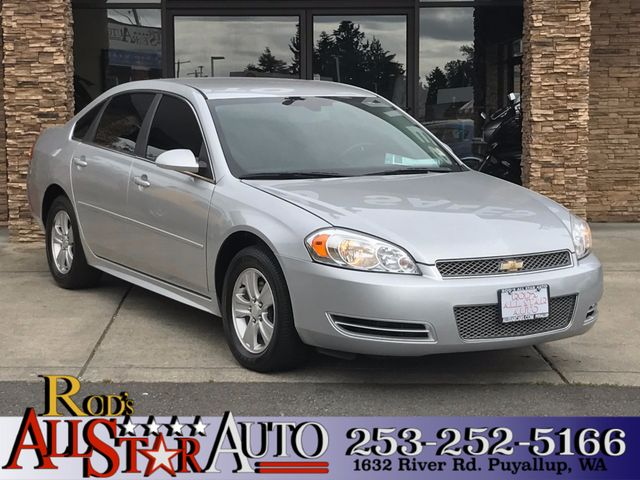 2012 Chevrolet Impala LS Fleet The CARFAX Buy Back Guarantee that comes with this vehicle means th
