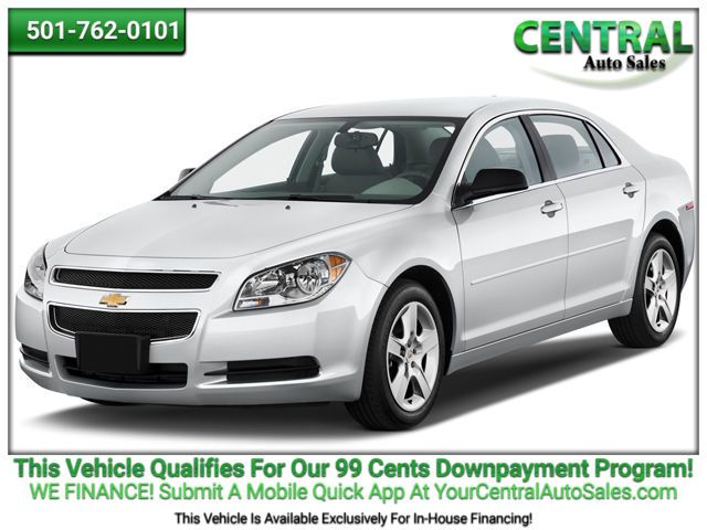 2012 Chevrolet Malibu LT w/2LT | Hot Springs, AR | Central Auto Sales in Hot Springs AR