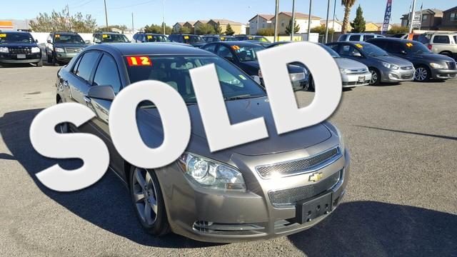 Used Cars in Las Vegas 2012 Chevrolet Malibu