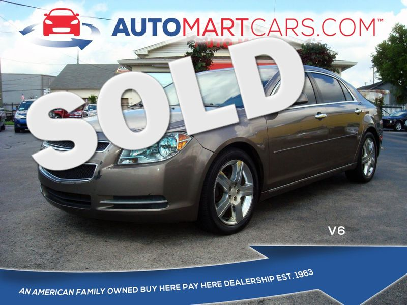 2012 Chevrolet Malibu LT w/3LT | Nashville, Tennessee | Auto Mart Used Cars Inc. in Nashville Tennessee