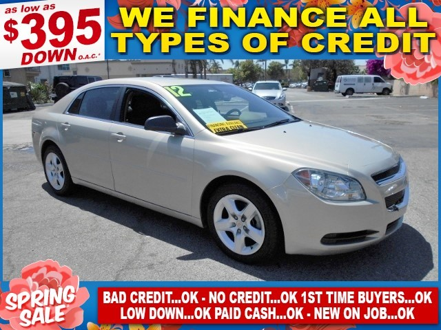 2012 Chevrolet Malibu LS w1LS Limited warranty included to assure your worry-free purchase AutoC