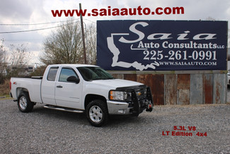 2012 Chevrolet Silverado 1500 5.3 V8 Extra Cab Z71 4wd Leveled 33s Winch Bumper Winch in Baton Rouge  Louisiana